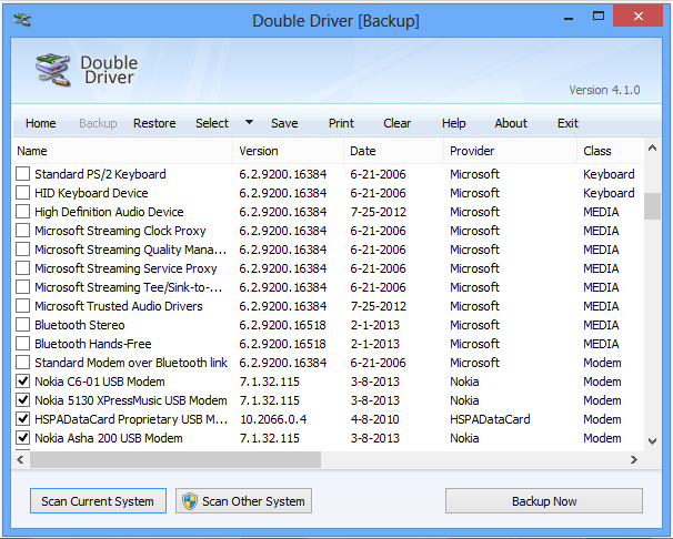 Double Driver backup