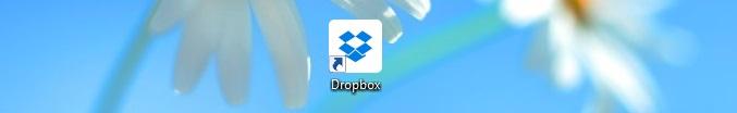Dropbox shortcut