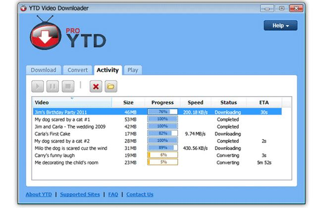 YTD youtube video downloader