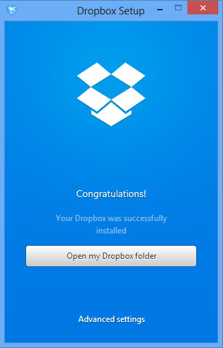 dropbox pc welcome
