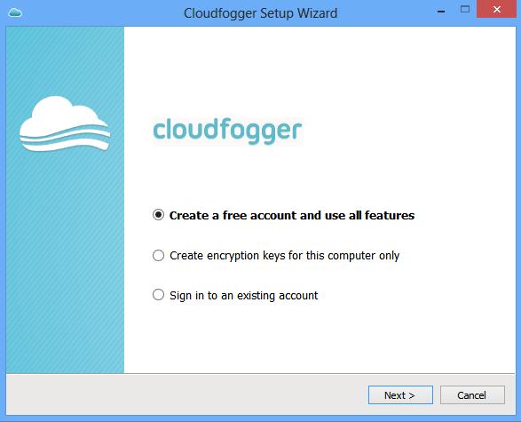 cloudfogger login 1