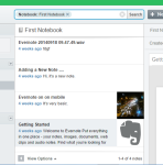 evernote home page view11123