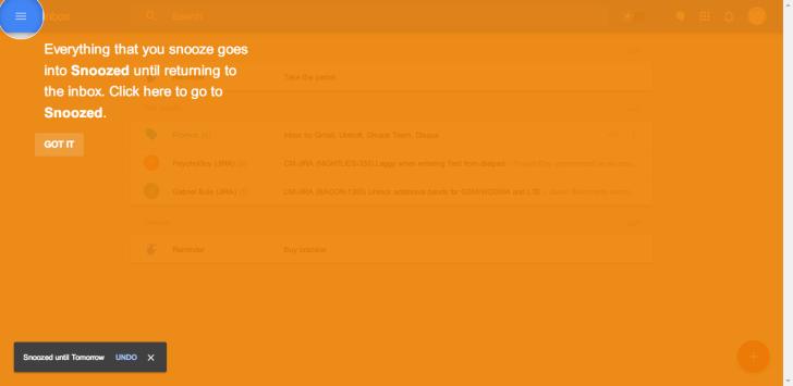 Inbox Tips