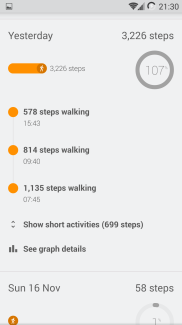 Step overview