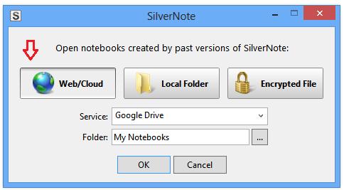 SilverNote Google Drive