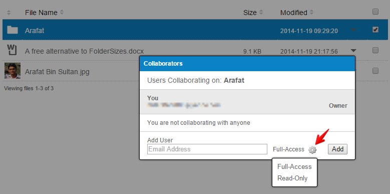 adding collaborator