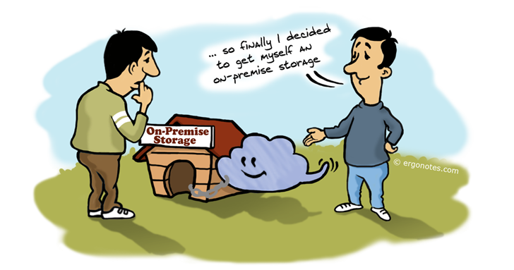 on premise_storage