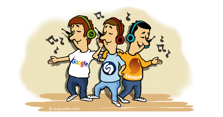 Shazam, Soundhound And Google Search Music Identification