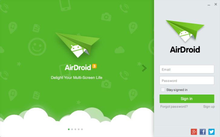 Airdroid Windows client