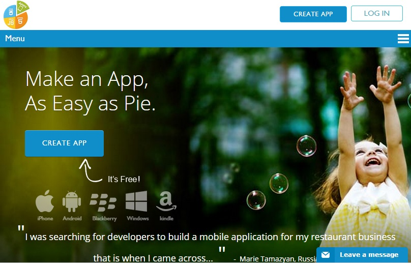 App Maker Appy Pie