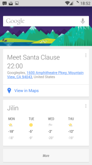 Google now integration with Calendar
