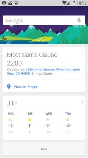 Google now integration with Calendar