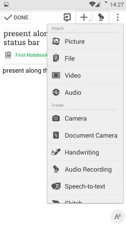 Evernote more features