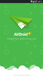 Airdroid Android splash