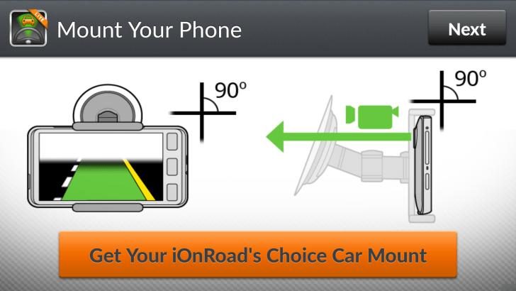 iOnRoad Mount & Drive info