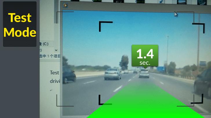 iOnRoad test drive auto adaption