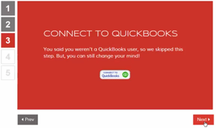 Connecting bigtime with quickbooks