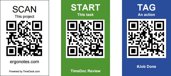 timedock qr codes