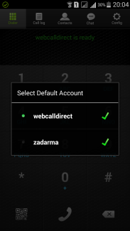 Default account