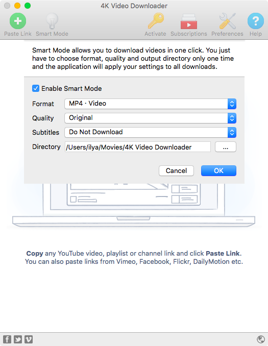 Downloading 4k video from youtube with 4k video downloader 4k video downloader smart mode ccuart Choice Image