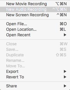 quicktime record screen menu