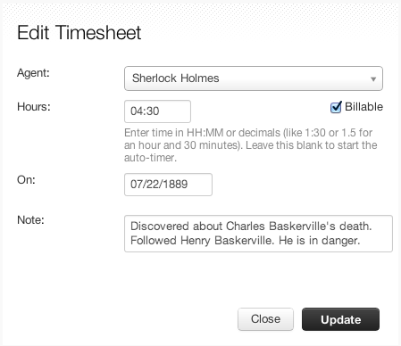 Time Tracking Freshdesk