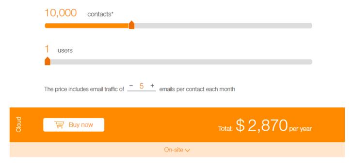 bpm'online pricing