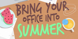 bring your office into summer