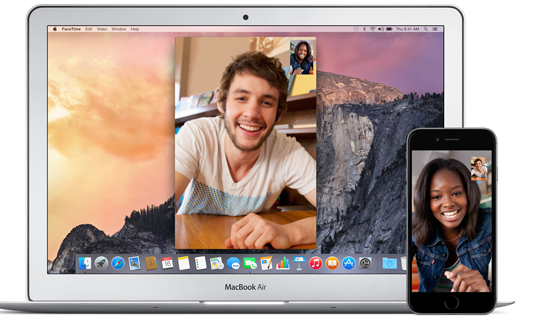 videocall facetime