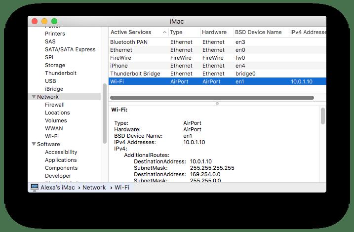 IPv4 Adresses