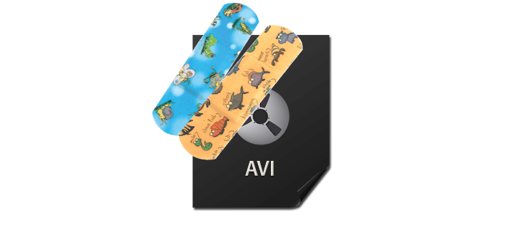 repair avi file